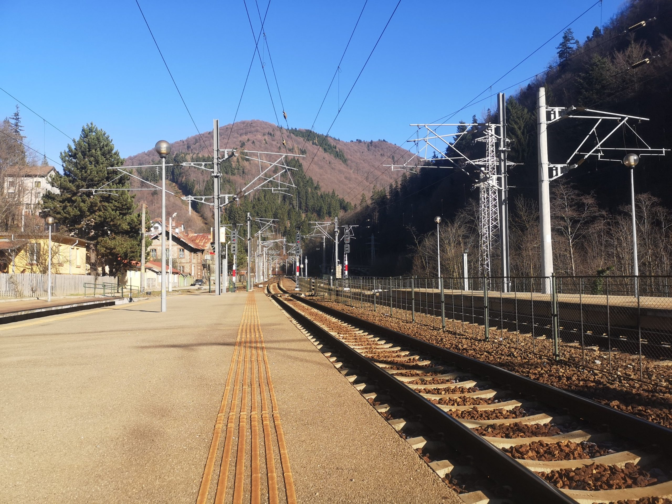 Stacja kolejowa Sinaia