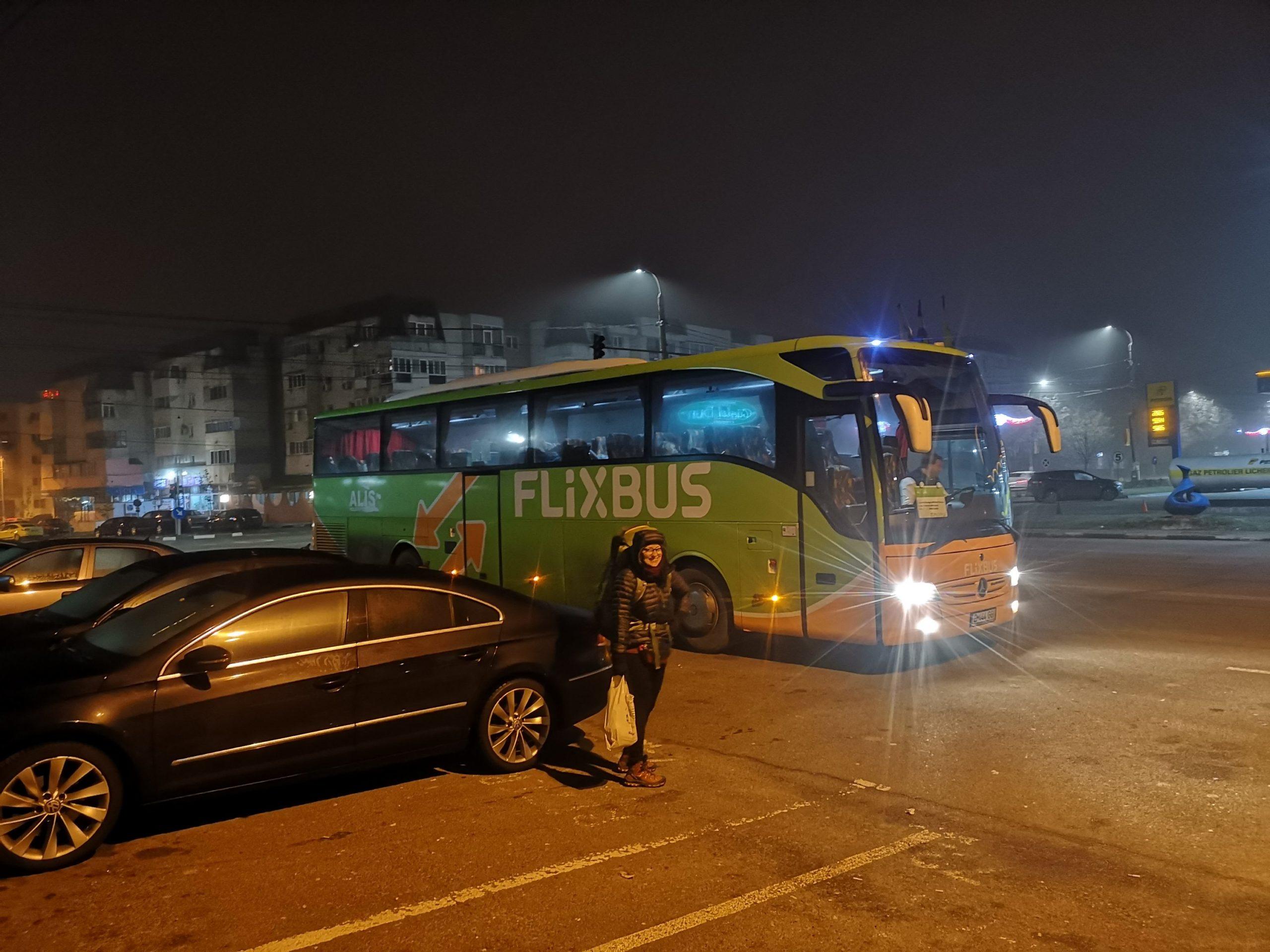 Triumfalny wjazd Flixbusa na