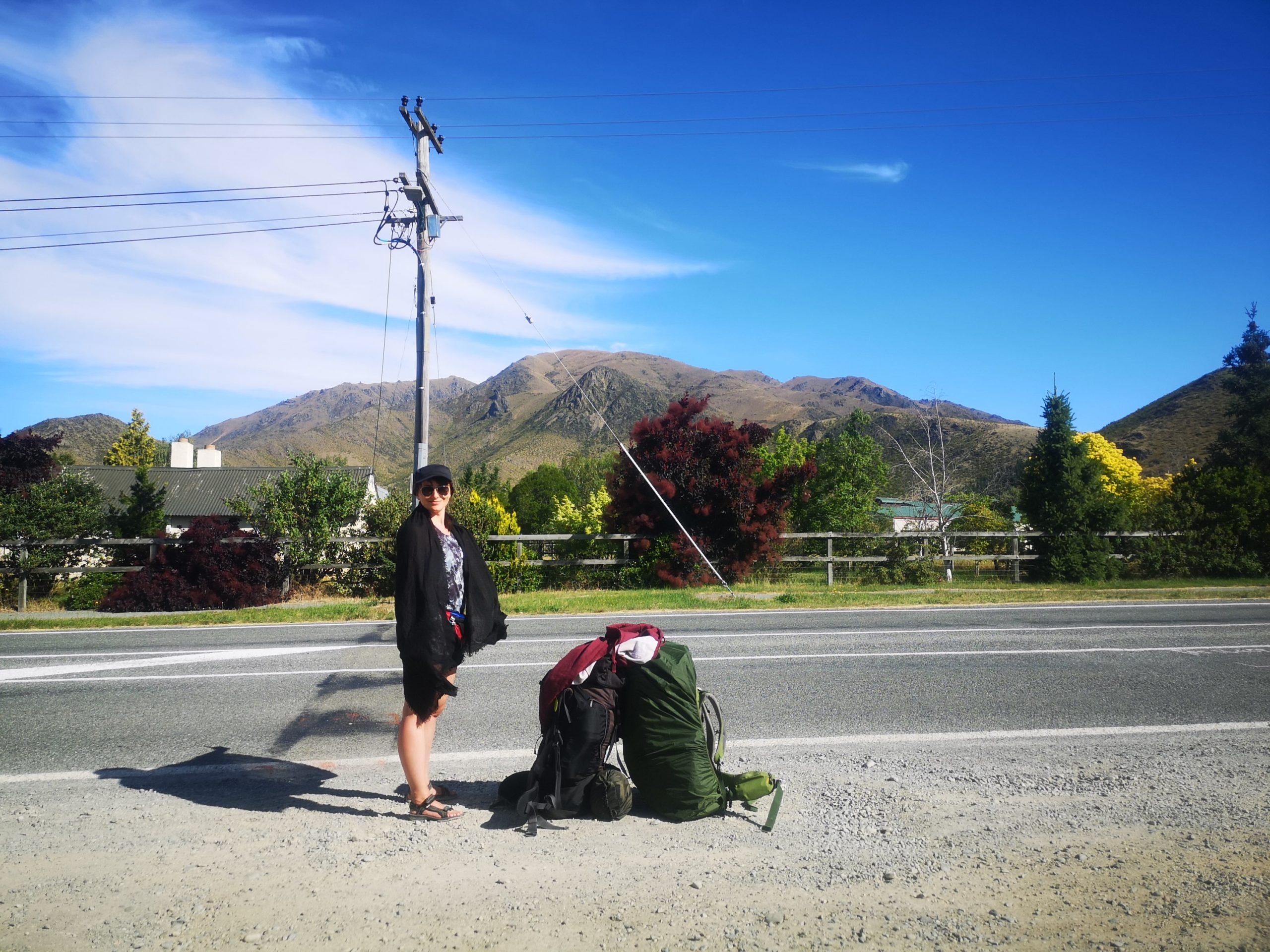 Czym zaskoczyła nas Nowa Zelandia? - łapanie stopa
