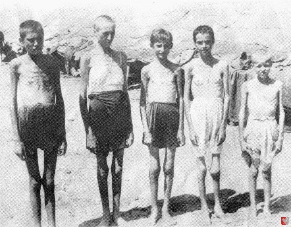 Polskie Dzieci z Pahiatua - głód, II wojna światowa, obóz w Persji