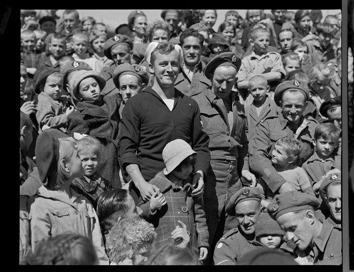 Polskie Dzieci z Pahiatua na statku