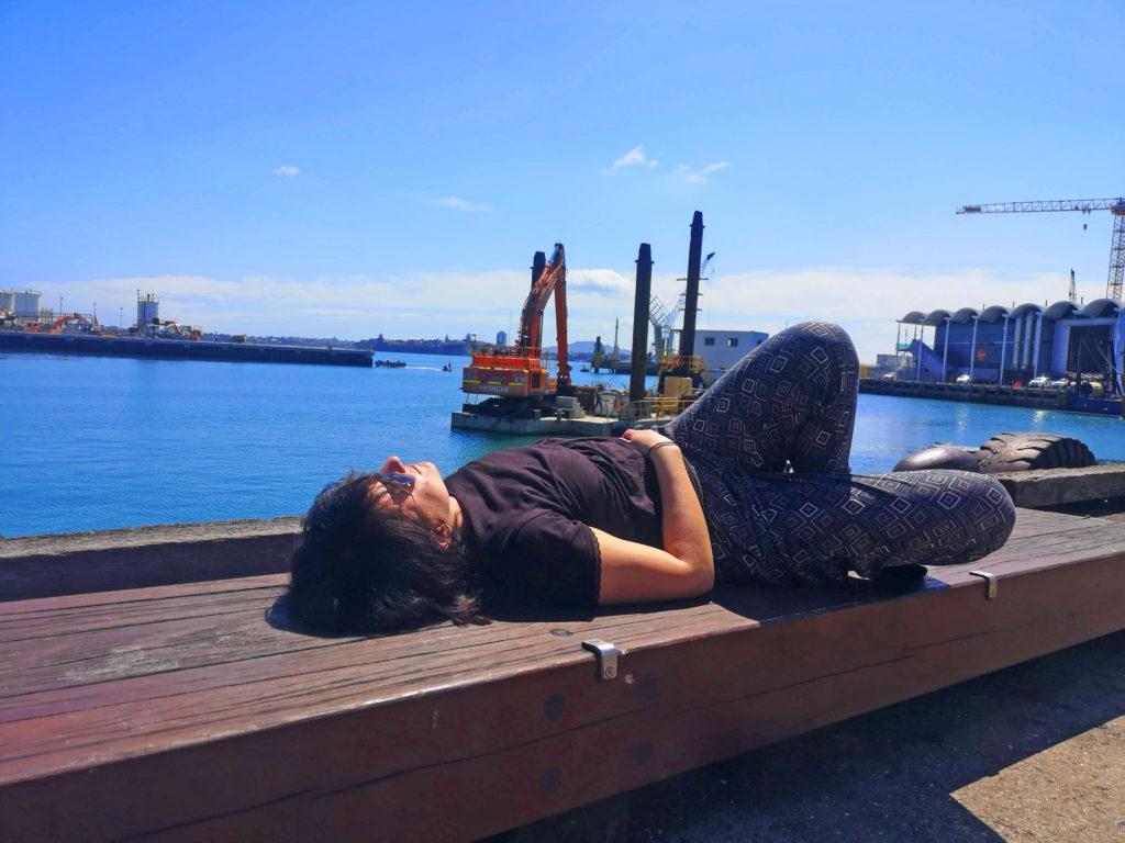 Opalanie w Auckland Nowa Zelandia