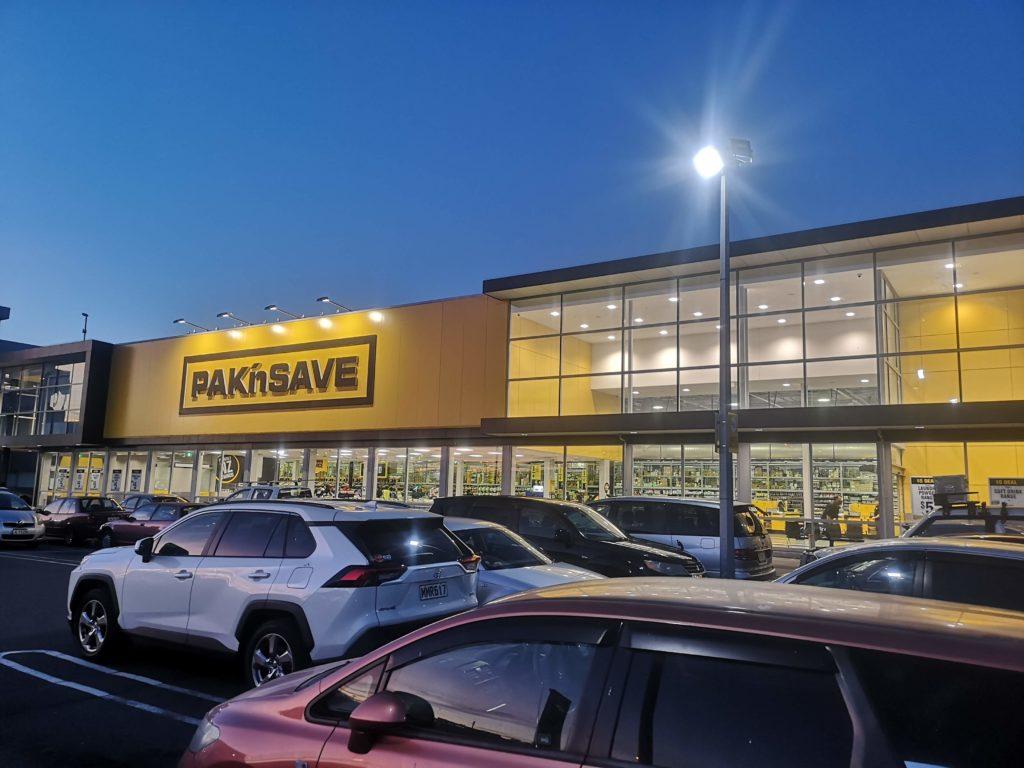 Supermarket Pakn'Save w Nowej Zelandii