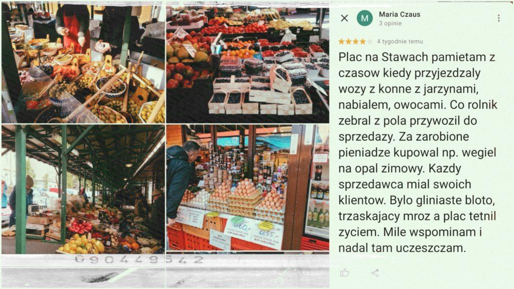 Targowiska w Krakowie - Plac Na Stawach