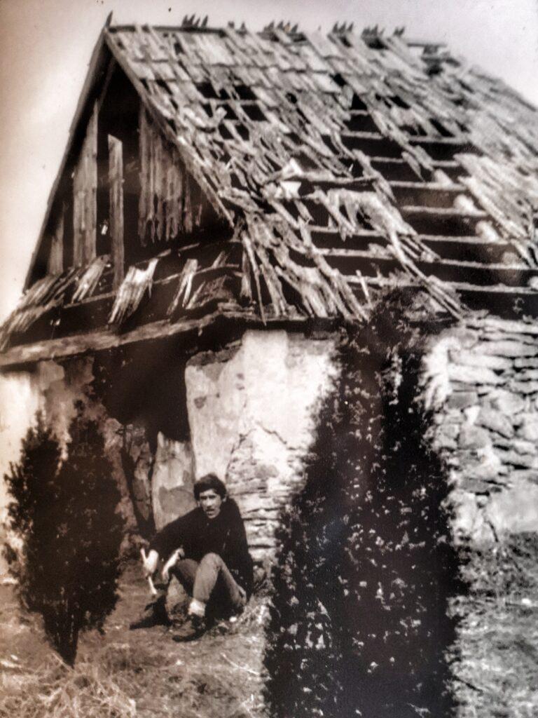Schronisko na Łopienniku - Olgierd Łotoczko