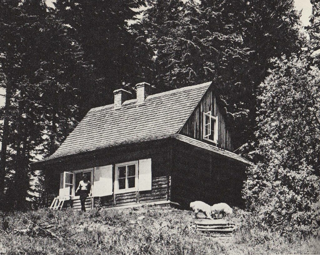 Schronisko na Łopienniku - 1968 rok